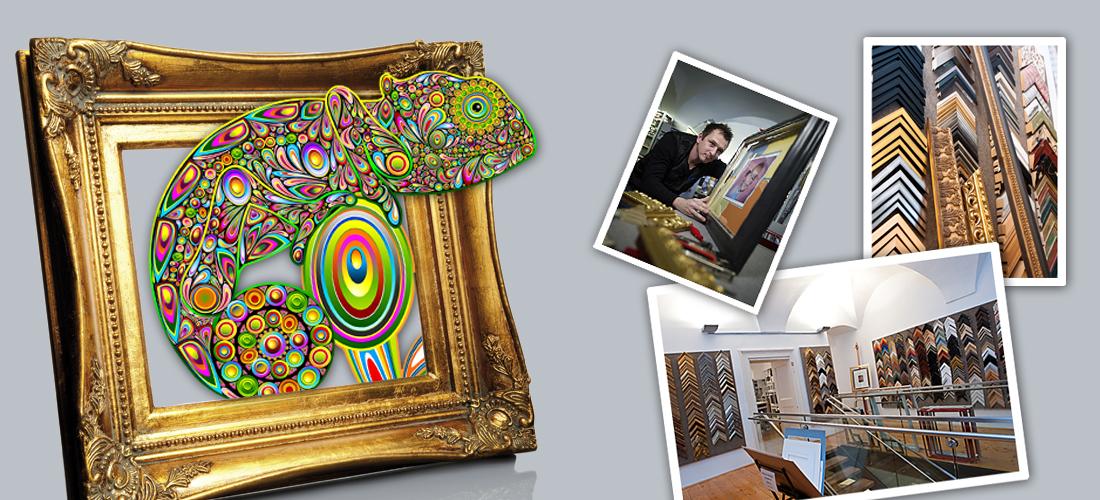 Wir geben deiner Kunst ihren wohlverdienten Rahmen!