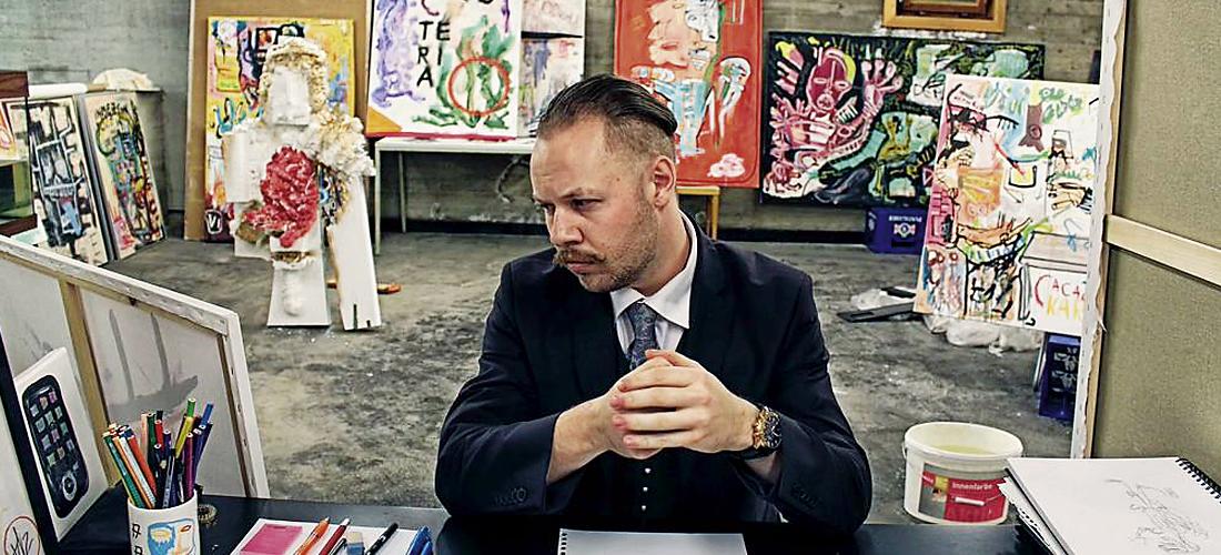 Unser Kunst-Kaspar der Woche: Joey Davis!