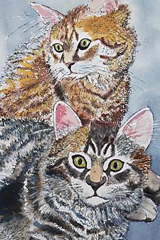 Kaspar Harnisch Tiere malen zeichnen