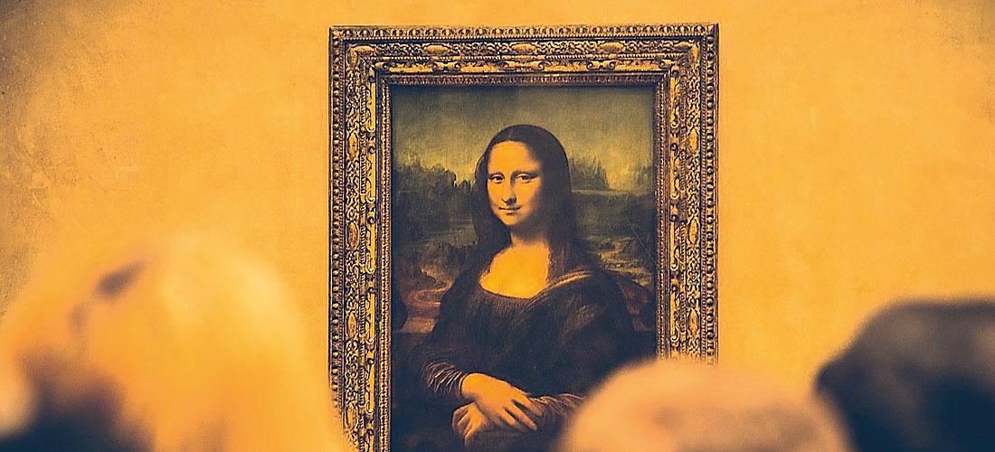 Was versteckt die Mona Lisa hinter ihrem Lächeln? Die Theorien!